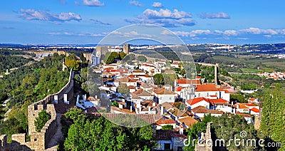 Panorama of Obidos