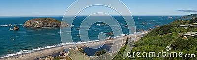 Panorama - Ocean coast line