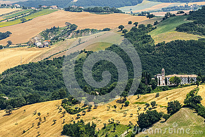 Panorama od Arcevia