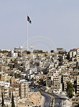 Free Panorama Of Amman, Jordan Royalty Free Stock Image - 3724926