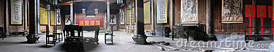Panorama in an Old Chinese House