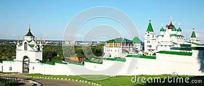 Panorama Pechersky Ascension Monastery Nizhny Novgorod