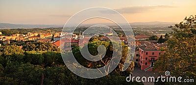 Panorama in Perugia - Italy landscape