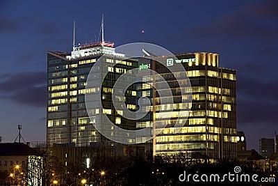 Panorama of Poznan Editorial Stock Photo