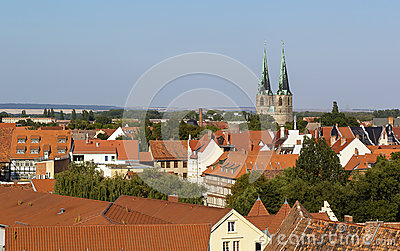 Panorama of Quedlinburg, Germany