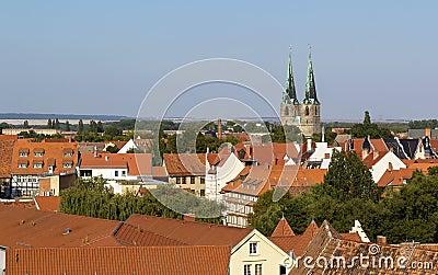 Panorama of Quedlinburg, Germany