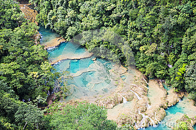 Panorama of Semuc-champey