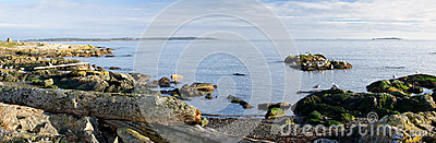 Panorama of southern Vancouver Island, BC Canada
