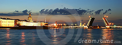 Panorama of St. Petersburg, Russia
