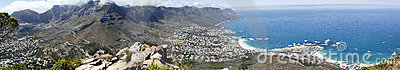 Panorama Table Mountain Stock Photo - Image: 18592590