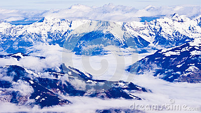 Panorama from the top of Kaprun glacier