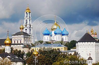 Panorama of Trinity Sergius Lavra