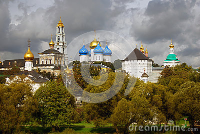 Panorama Of Trinity Sergius Lavra Royalty Free Stock Photo - Image: 26622815