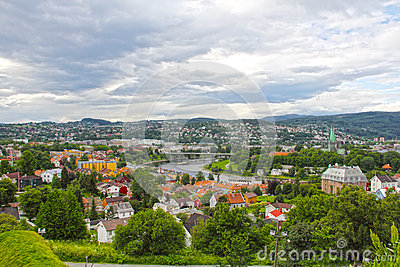 Panorama of Trondheim