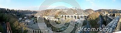 Panorama van Luxemburg