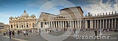 Panorama Vatican Editorial Stock Image