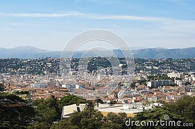 Panorama von Nizza