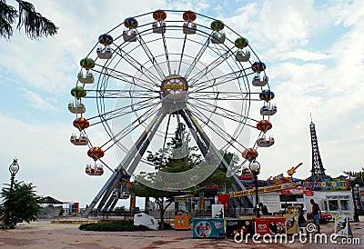 Panorama Wheel Attraction Editorial Photo