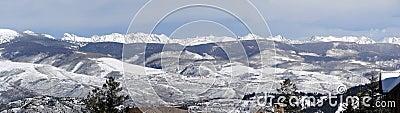 Panorama, Winter snow