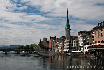 Panorama of Zurich