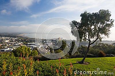 Panoramat av Ventura från lån parkerar