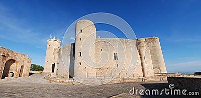Panoramic Bellver Castle (Majorca)