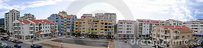 Panoramic buildings