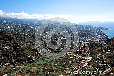 Panoramic city Funchal