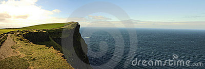 Panoramic Cliffs of Moher
