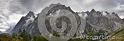 Panoramic Italian Alps