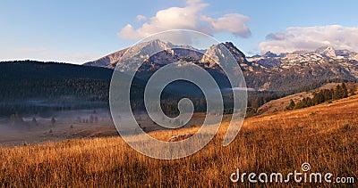 Panoramic landscape. Durmitor National Park - Montenegro 4