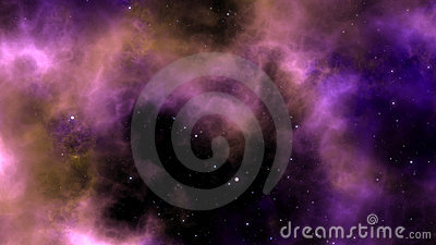 Panoramic Nebula Background