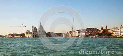 Panoramic overview of Venice