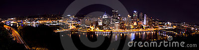 Panoramic Pittsburgh Pennsylvania