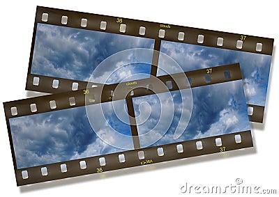 Panoramic slide