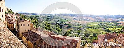 Panoramic Tuscan view