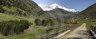 Panoramic val di peio