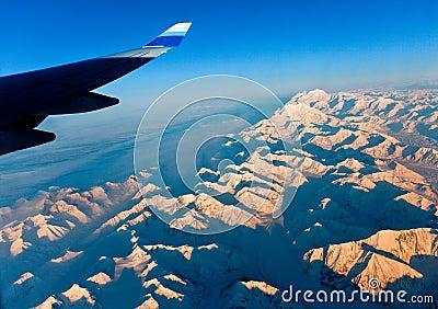 The Panoramic View of Atlantic Snow Mountain