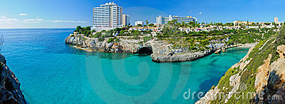 Panoramic View of Bay Majorca