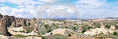 Panoramic view of beautiful
