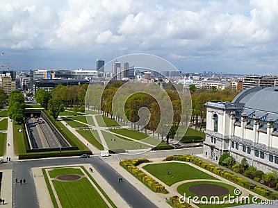 Panoramic view Bruxelles