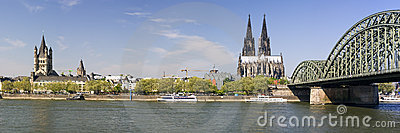 Panoramic view of cologne Xlarge
