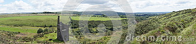 Panoramic view of Dartmoor