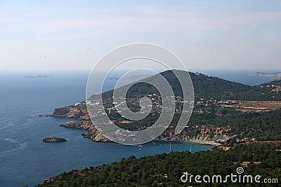Panoramic View, Ibiza Island (Cala D Hort)