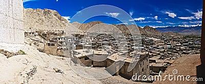 Panoramic view of Leh
