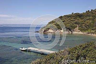 Panoramic view of Mediteranean Sea