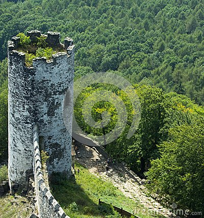 Free Panoramic View Of Landscape With Old Tower 3 Royalty Free Stock Photo - 108426365