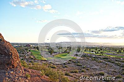 Panoramic view of Phoenix, AZ