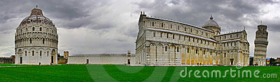 Panoramic view of Pisa.