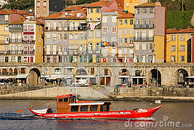 Panoramic view. Porto. Portugal Editorial Stock Image